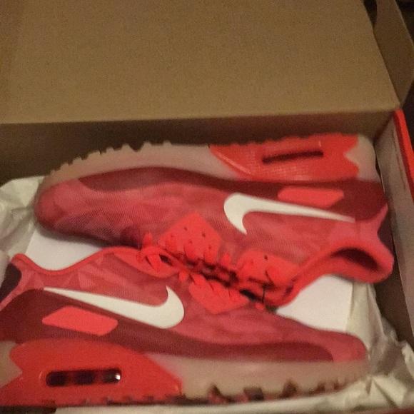 "Nike Air Max 90 Ice ""Laser Crimson"" Buty Męskie"